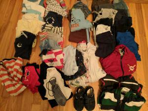 Boy's clothes 12-24 months lot 1