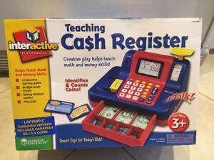 Kids Teaching Cash Register - Brand New in Box, Never Opened