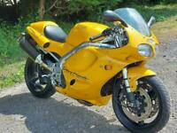 1997 TRIUMPH T 595 DAYTONA. STUNNING!! 11K MILES. DELIVERY AVAILABLE