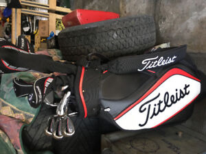 Callaway X treme Irons and Woods + Titleist Bag