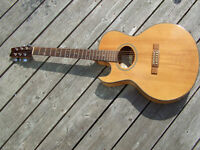 Washburn Festival EA30 Acoustic Electric lefty left-hand guitar