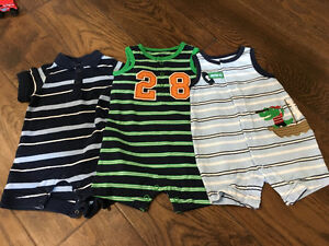 Baby boy summer clothes 0-3 mths (13 pieces)