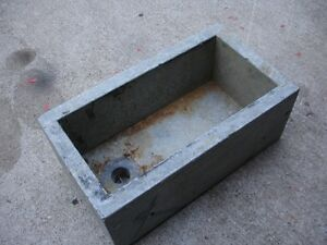 Soapstone sink for carving material
