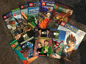 11 BOYS ACTION ADVENTURE BOOKS FOR SALE