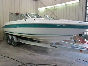 1993 searay bowrider 240 with trailer