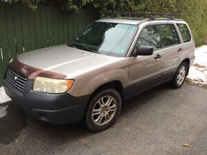 Subaru Forester Columbia edition 2007