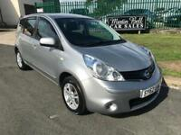 62 NISSAN NOTE 1.4 ACENTA 43000 MILES NO DEPOSIT FROM £109 A MONTH