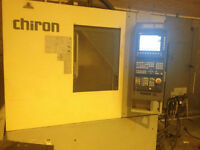 2002 CHIRON FZ08 W 4 Axis CNC VERTICAL MACHINING CENTER
