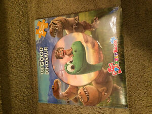 Brand new in package Good Dinosaur puzzle book
