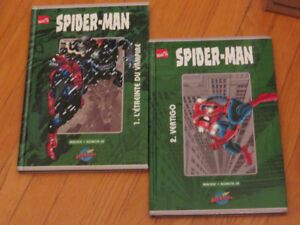-*)DUO 100% MARVEL SPIDER-MAN TOME 1 ET 2