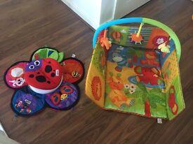 X2 play mats- baby Einstein & mothercare