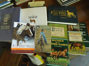 10 books about HORSES