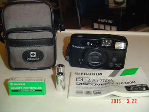 """""""FUJIFILM"""" DISCOVERY DL-270, 35 mm ZOOM, POINT & SHOOT CAMERA"""