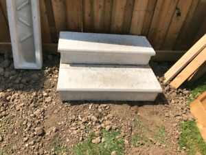 Cement Tiles and Steps for Sale