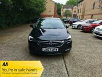 2017 Vauxhall Astra 1.4i Turbo Design Auto (s/s) 5dr +Apple / Android / Play +2