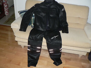 Biker Leather Jacket & Pants