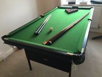 As New Snooker & Pool table