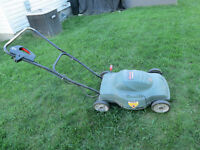 Black and Decker Electric Mulching Mower