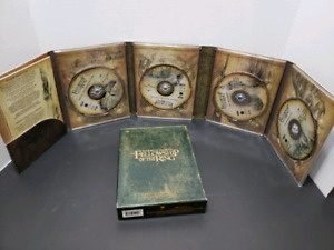 LORD OF THE RINGS 4 DISC DVD SET