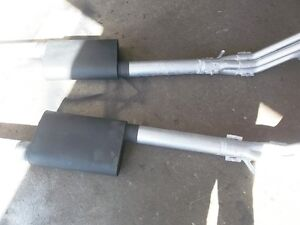 TWO =3 inch FLOW TECK chamber mufflers