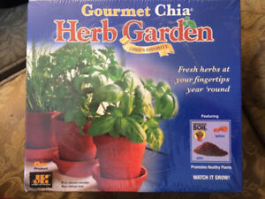 Gourmet Chia Herb Garden: Grow Your Own Herbs Kit