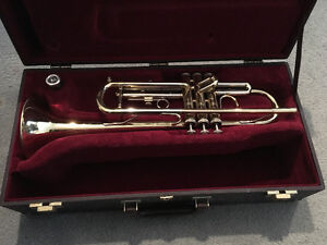 Besson Trumpet with case