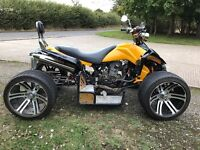 Spy f1 250cc road legal quad bike