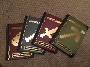 Minecraft hardcover series