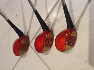 BEN HOGAN (REAL WOOD) GOLF CLUBS - FROM THE 50's