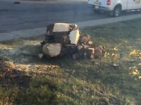 Fire wood for pick up- pending pick up tonight.