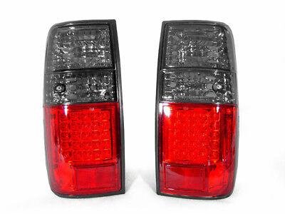 1997 Lexus Lx450 Light - DEPO Red/Smoke Rear LED Tail Lights Pair For 1991-1997 Toyota Land Cruiser FJ80