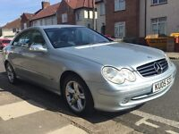 2005 MERCEDES-BENZ CLK200 KOMPRESSOR AVANTGARDE AUTOMATIC