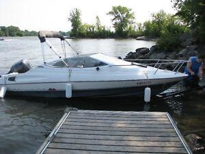 Bayliner Capri Cuddy 21 ft sleeps 4 with Yamaha 150 HP Outboard