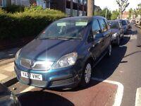Vauxhall Zafira LPG, good runner!