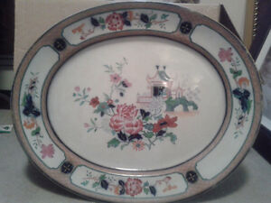Over 150 years old English Serving platters