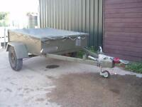 EX MILITARY ARMY TRAILER TRAILOAD TG2500 2500 KG GTW BRAKED EXCELLENT COND