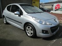 Peugeot 207 1.4 8V VERVE - ONLY 56304 MILES - PAY AS YOU GO FINANCE AVAILABLE - (silver) 2010
