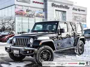 2017 Jeep Wrangler Unlimited Sahara 75TH ANN. Navi, Only 27,200