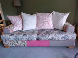 Large lounge sofa.