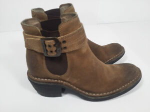 *FLY LONDON - Suede:  bottes femme taille 6 US ou 37 EU*