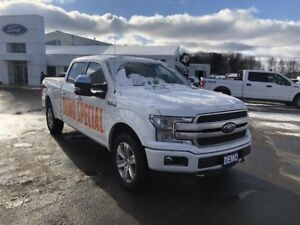 "2018 Ford F150 4x4 - Supercrew Platinum - 157"" WB"