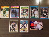 Cartes de hockey vintage