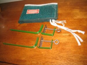 Never used vintage ping pong table tennis net made in Japan
