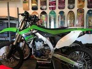 Like new 2012 KX450F