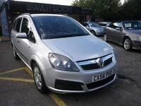 2006 Vauxhall Zafira 1.6i 16v ( a/c ) Life * EXCELLENT EXAMPLE * NEW MOT
