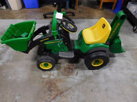 Powered John Deere Utility Tractor by Peg-Perego