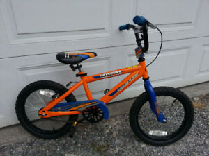 "Kids BMX bike.  16"" wheels"