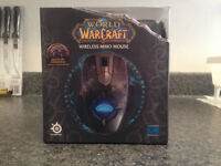 Steelseries World of Warcraft Wireless Mouse and Charging Stand