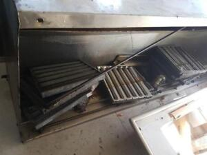 COMMERCIAL EXHAUST HOOD*ONLY*$1250