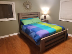 6 Piece Bedroom Set with box and Queen mattress
